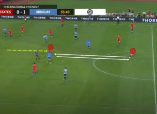International Friendly 2019: USA vs Uruguay - tactical analysis - tactics