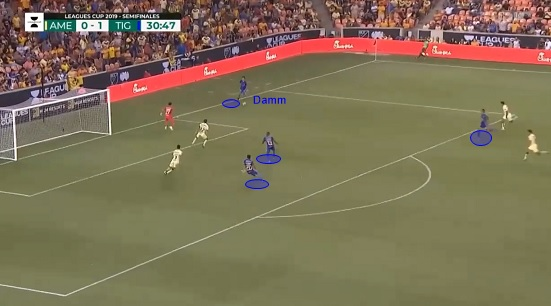 Jürgen Damm 2020 - scout report - tactical analysis tactics