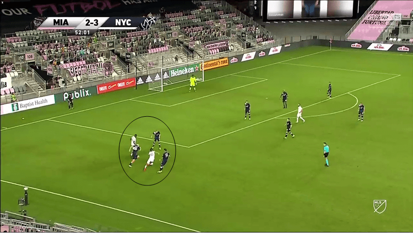 MLS 2020 - Inter Miami v New York City FC - Tactical Analysis - tactics