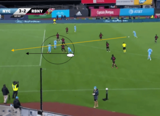 MLS 2020 - New York City FC v New York Red Bulls - Tactical Analysis - tactics